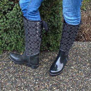 Coach Rain Boots - 2 pairs